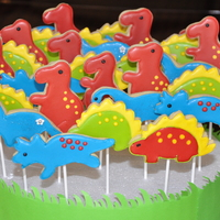 Dinosaur Party Cookies dinosaur party cookies
