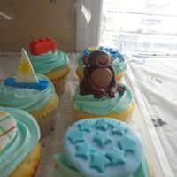 Baby Shower Cuppie Cakes