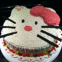 Hello Kitty Cake 9Inch 2 Layer Hello Kitty 9inch double layer cake