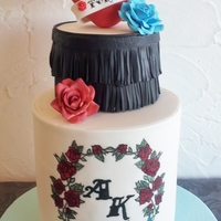 Tattoo Cake As a hobbyist/beginner cake decorator I can't always wait for some special occasion, could it be my kids birthday for instance or...