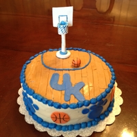 Uk Wildcats Basketball Cake