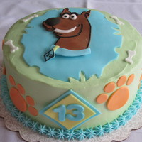 Scooby Doo 13th Scooby Doo birthday cake
