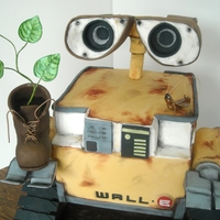 Wall-E Birthday Cake