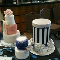 Wedding Expo Cakes
