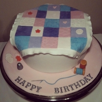 Quilters Birthday Cake