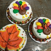 Thanksgiving Mini Cakes