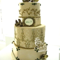 Couture Wedding Cake I hope you like it!