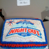 National Night Out Cake 2012