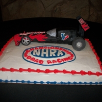 Nhra Grooms Cake All Edible