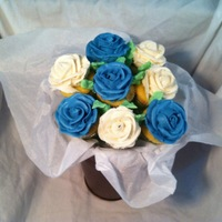 Mini Cupcake Bouquet mini cupcake bouquet