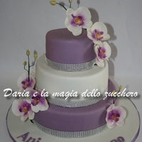 Orchid Cake Orchid cake