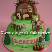 Masha And The Bear Cake Masha and the bear cake