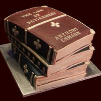 The Law Of Retirement Retirement Party cake. Cake is turtle flavor with fondant cover and accents. edible gold embelishment and a lot of love. :) Thanks for...