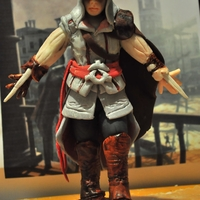 Assasin's Creed 2 Game Figurine Made From Plastic Icing