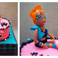 Monster High Howleen Wolf Howleen is made of Fondant