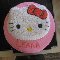 A Hello Kitty Cake For My Friends Grand Nieces 4Th Birthday A Hello Kitty cake for my friend's grand nieces' 4th birthday.
