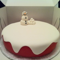Christmas Cake Christmas Cake for the Family Party!Carrots and Vanilla Buttercream Icing