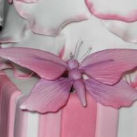 Pretty Pink Butterflies   Sugar Butterfly no 1
