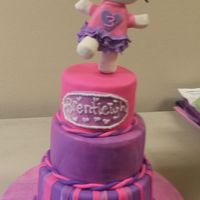 I Made This For My Daughters 3Rd Birthday Party 10 8 6 I Was Very Nervous About This Cake It Was Only My Fourth Fondant Cake And The F I made this for my daughters 3rd birthday party. 10, 8, 6. I was very nervous about this cake. It was only my fourth fondant cake and the...
