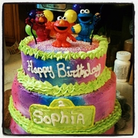 Sesame Street Birthday I made this for my daughter's 2nd birthday :)