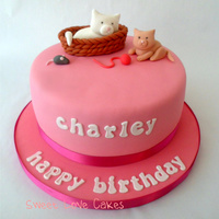 Kittie Cat Cake
