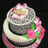 Its A Girl Baby Shower Cake its a girl baby shower cake