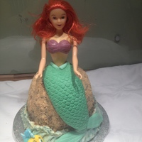 Little Mermaid Cake Little Mermaid cake