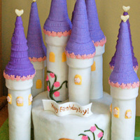 Princess Castle Cake For My Little Girl Princess castle cake for my little girl