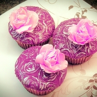Rose Inspired Cupcakes