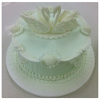 My First Royal Icing Cake Tfl My first royal icing cake :) TFL!