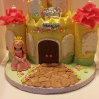 The Castle Cake Was Inspired By Shereens Cakes Amp Bakes It Is Made For My Friends Daughter Birthday Thanks For Looking The castle cake was inspired by Shereen's Cakes & Bakes. It is made for my friend's daughter birthday. Thanks for looking!