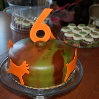 My Very First Fondant Cake This Went With The Camo Cupcakes I Have Pictured Just Made Three Different Fondant Colors The Deer And Numeral My very first fondant cake! This went with the camo cupcakes I have pictured. Just made three different fondant colors. The deer and...