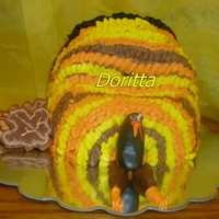 A Turkey Cake Request From One Of My Sons A turkey cake request from one of my sons
