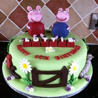 Peppa Pig Cake My latest creation!!