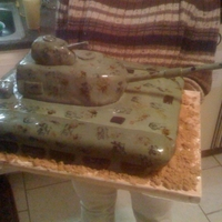 Tank Cake This is the first of several different tank cakes that I've made.