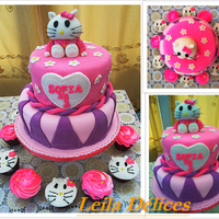 Hello Kitty the hello kitty cake