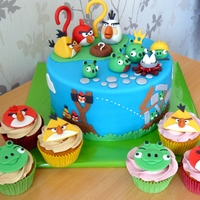 Angry Birds And Cupcakes