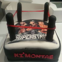 Wwe Wrestling Ring Cake Wwe wrestling ring cake