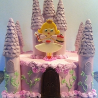 Castle Birthday Cake