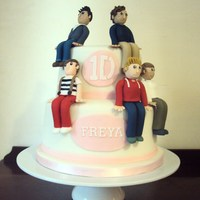 One Direction Cake One Direction Cake