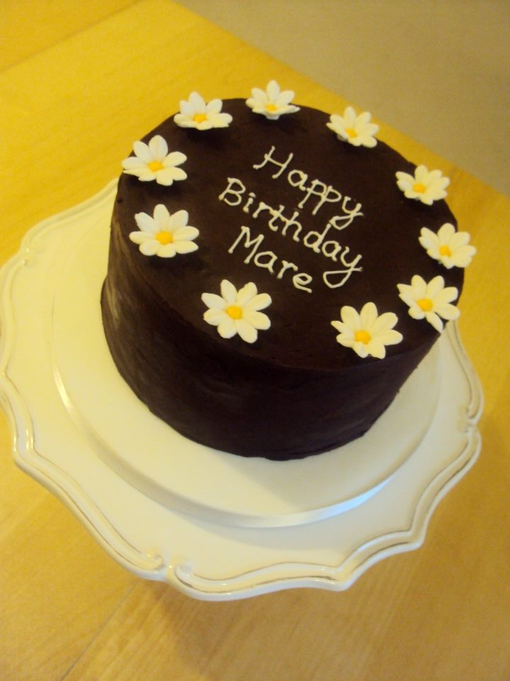 Daisy Chocolate Mud Cake Daisy Chocolate Mud Cake