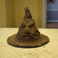 Sorting Hat Followed the tutorial for a sorting hat cake and it came out great!!