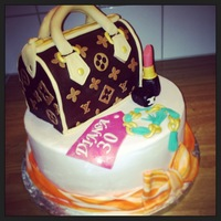 Louis Vuitton Speedy Bag Cake