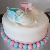 Gender Reveal   Gender Reveal cake for a good friend/work colleague
