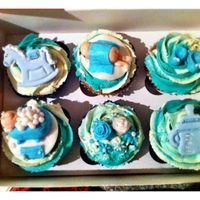 My Sister Just Had A Baby Boy So I Made These To Take Round When I Go Visit My New Nephew Tomorrow My sister just had a baby boy so I made these to take round when I go visit my new nephew tomorrow :)