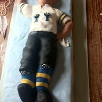 Morris Dancer   Morris dancer birthday cake for a keen Morris dancer, with specific outfit!