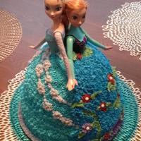 Ana Amp Elsa Doll Cake For A Frozen Birthday Party Ana & Elsa Doll Cake for a Frozen Birthday Party