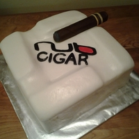 "This Was A Birthday Cake For A Gentleman Who Really Loves Cigars The Cake Is Marble Covered In Marshmallow Fondant The Cigar Is Marshm This was a birthday cake for a gentleman who really loves cigars! The cake is marble covered in marshmallow fondant. The ""cigar""..."