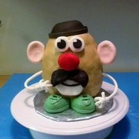 Mr. Potato Head Cake