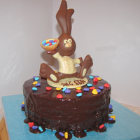 Little Happy Chef Bunny Cake   Little Happy Chef Bunny Cake